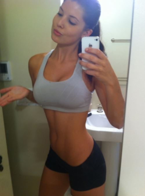 Sexy Selfies Working Out