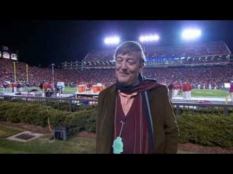 That Time Stephen Fry Watched A Football Game In Alabama
