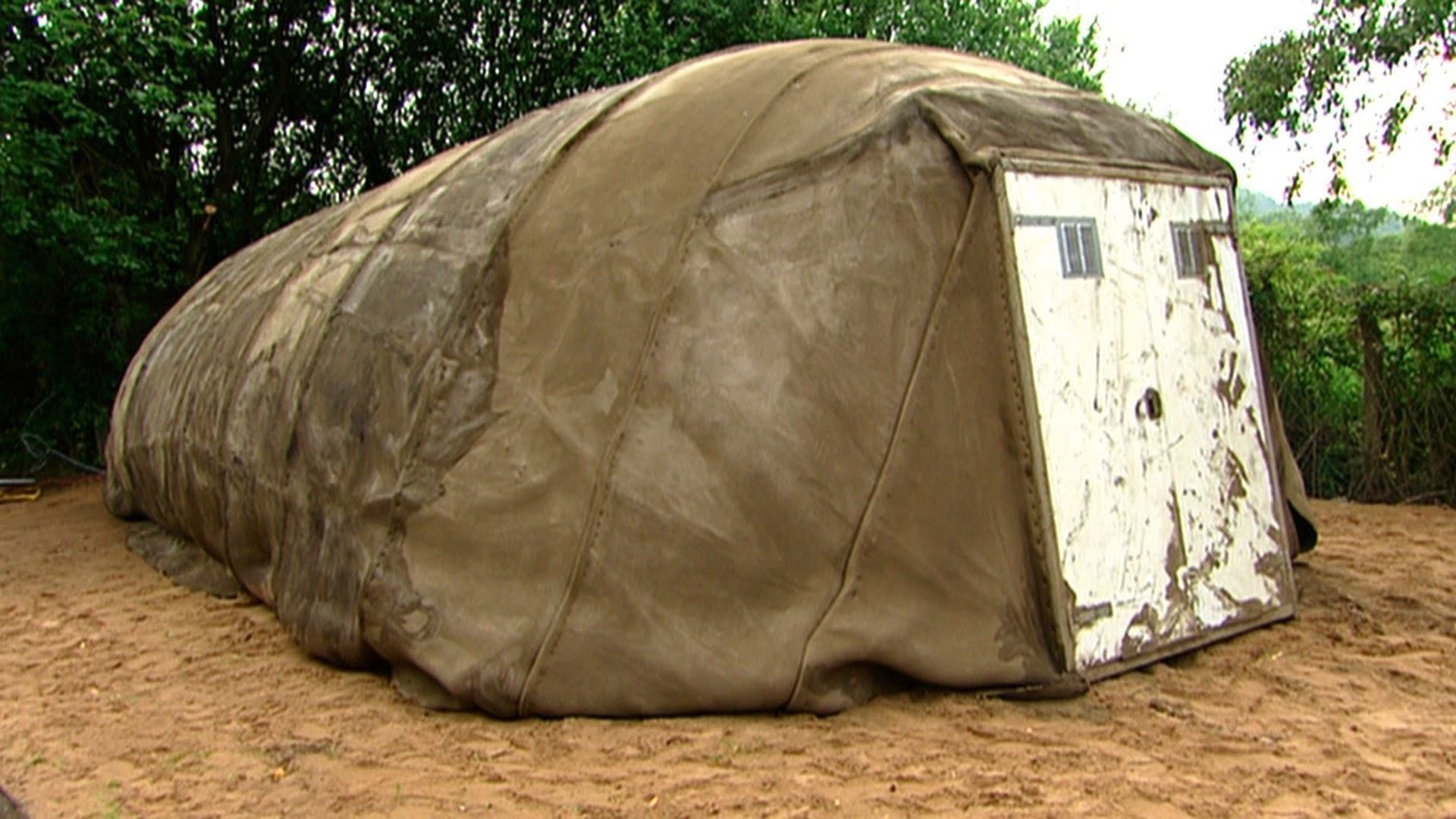 The Awesome Technology Of The Concrete Tent