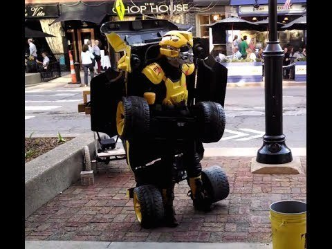 The Best Street Performer Ever