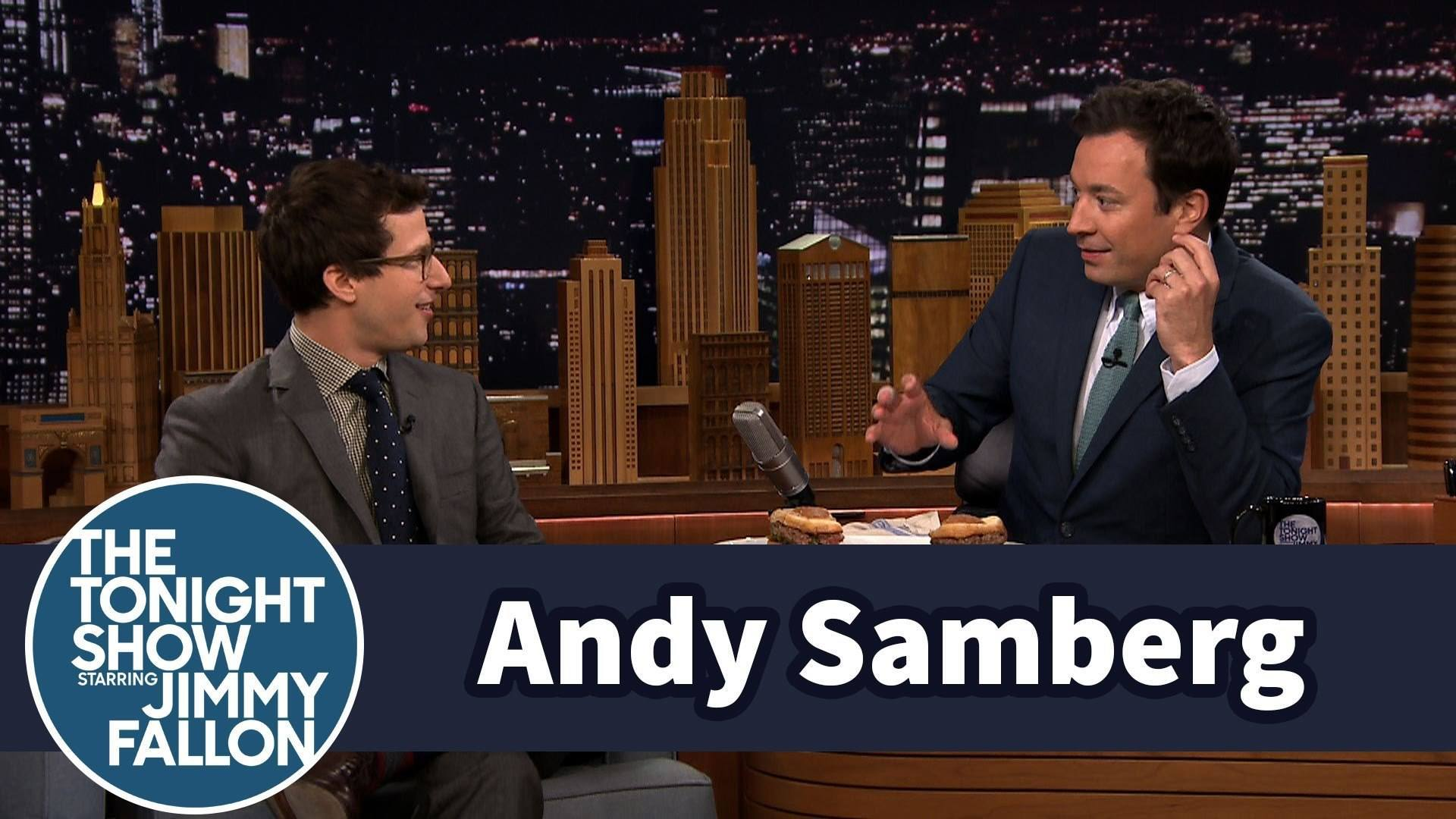 Video thumbnail for youtube video Andy Samberg Dazzles in 5-Second Summaries Game With Jimmy Fallon – PBH2
