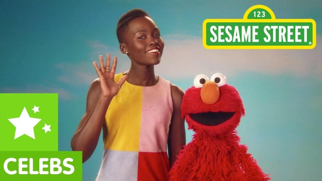 Lupita Nyong'o Graces Sesame Street