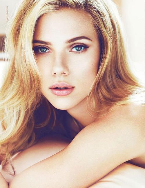 Scarlett Johansson's Eyes