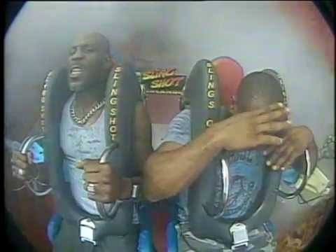 This Is DMX Riding A Theme Park Ride