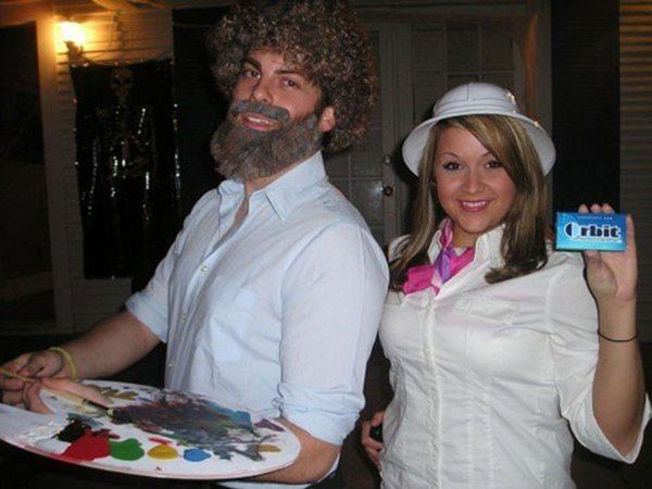 Bob Ross And The Orbit Gum LAdy