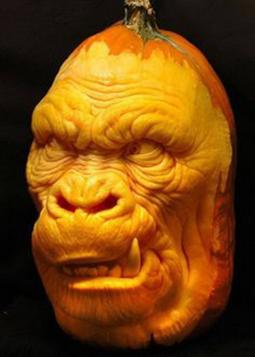 pumpkin-carvings-monkey