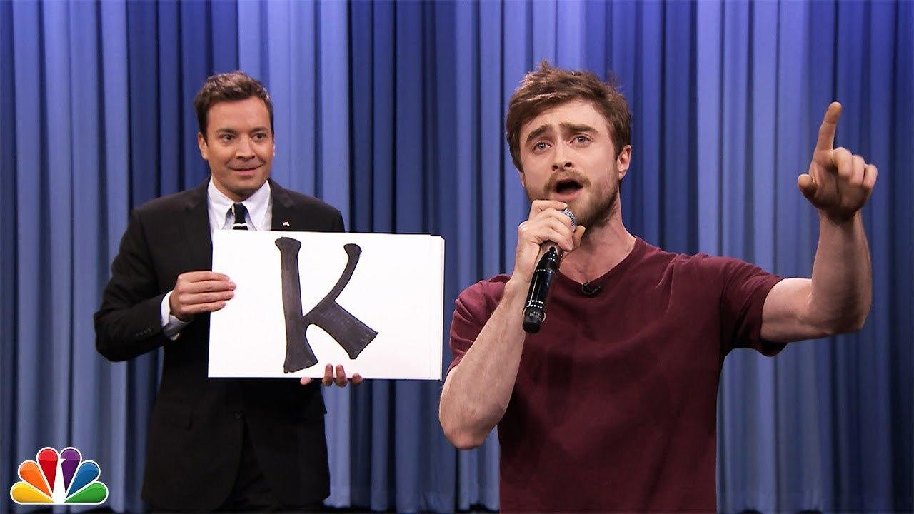 Watch Daniel Radcliffe Shock The World With A Surprise Rap Performance