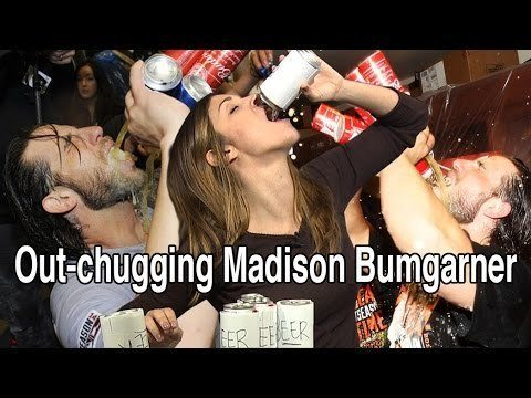 Watch Katie Nolan Out Chug Madison Bumgarner