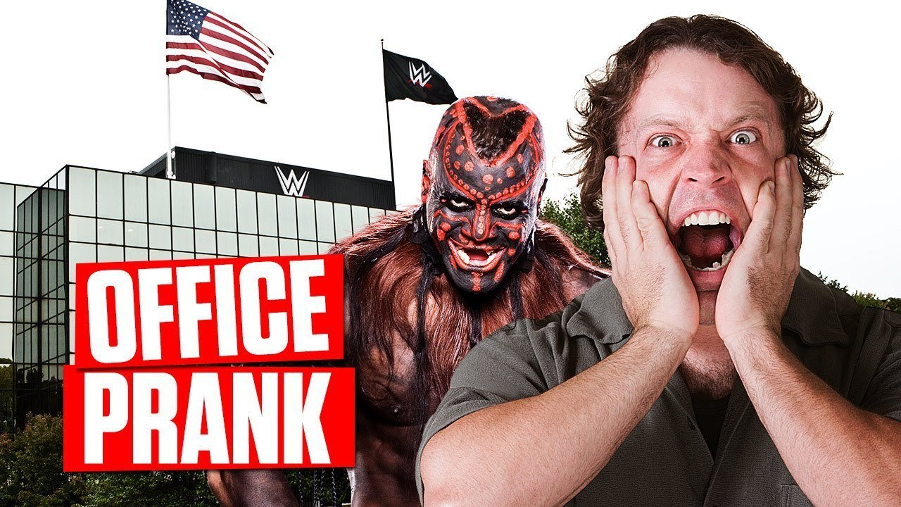 WWE Brings Back Boogeyman To Scare The Life Out Of Employees At Work