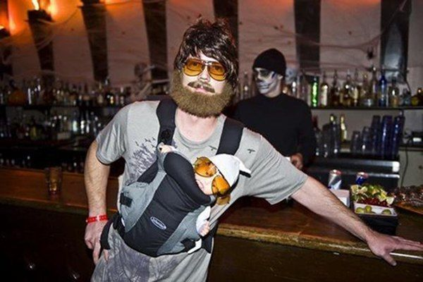 Zach Galafianakis Halloween Costume & Funny Halloween Costumes Perfect For Winning All Hallowsu0027 Eve