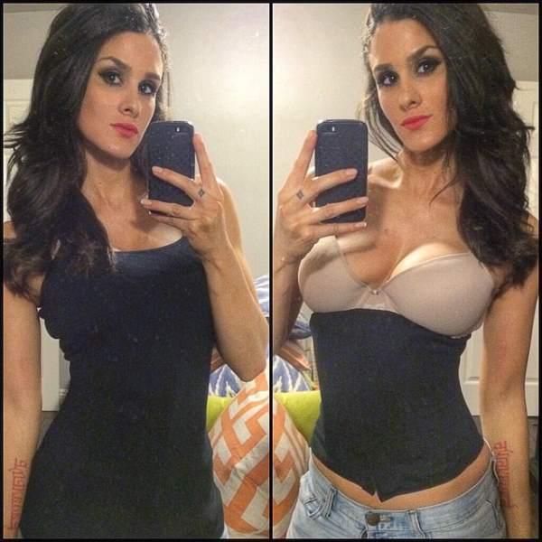Brittany Furlan Selfie
