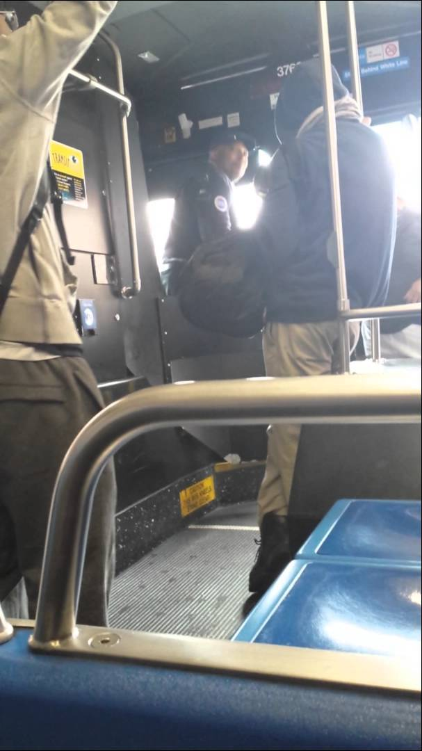 Bus Driver Loses His Mind Over Unpaid Fare