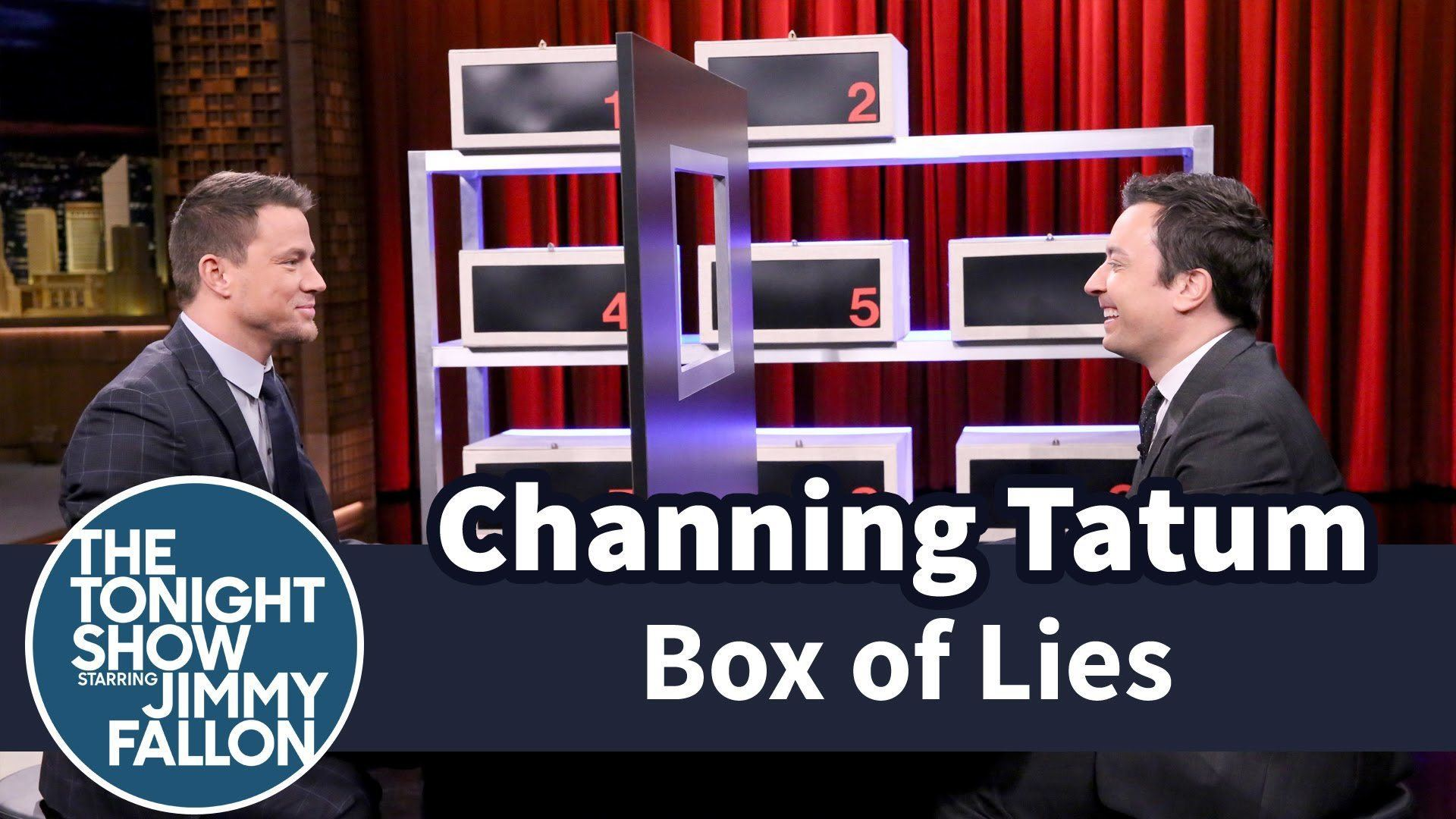 Channing Tatum And Jimmy Fallon Square Off In Box Of Lies