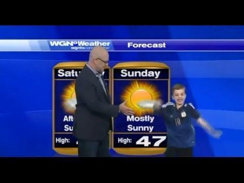 Meet Charlie Hale, The 7 Year Old Weatherman From Chicago
