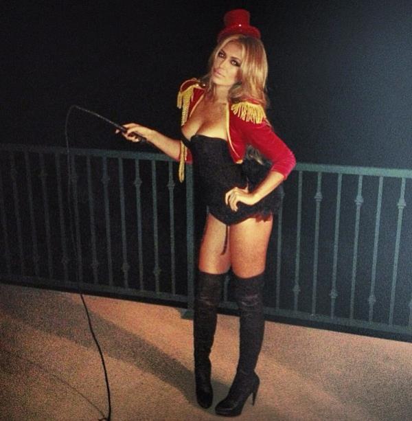 Paulina Gretzky Halloween