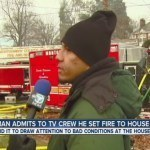 Watch This Man Admit To Setting His Home On Fire On Live Television