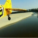 Bros Top Wakeboarding Behind A Car By Using A Plane