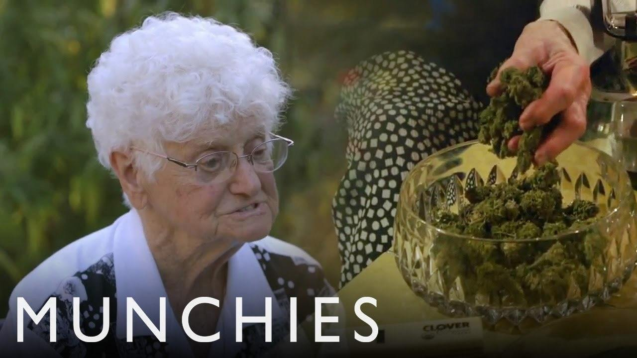 Video thumbnail for youtube video Meet Aurora Leveroni, The 91-Year Old World Class Weed Chef – PBH2