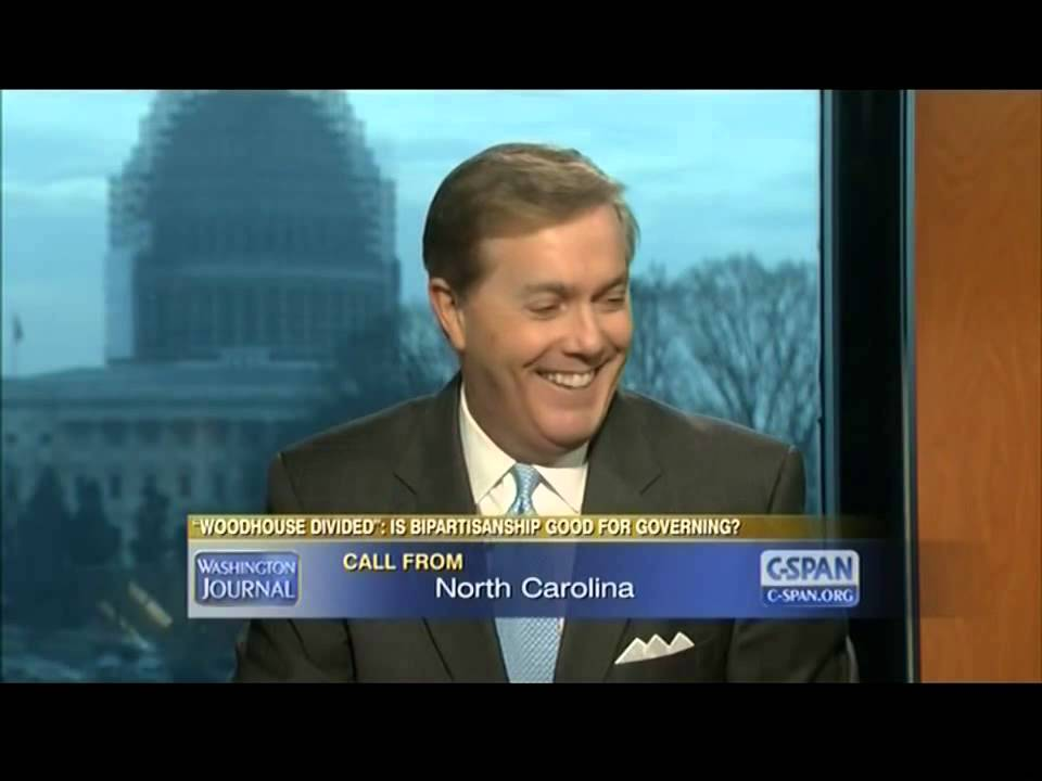 Mom Calls Into C-Span To Scold Sons For Arguing On Live Television