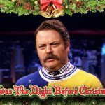 "Nick Offerman Remixes The Christmas Classic ""Twas the Night Before Christmas"""