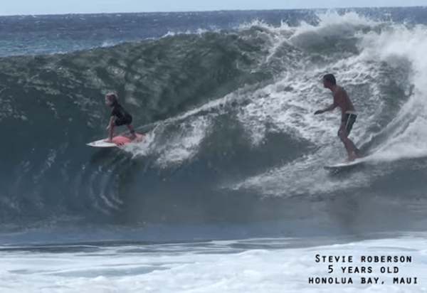 steve-roberson-surfing-hawaii-five-year-old