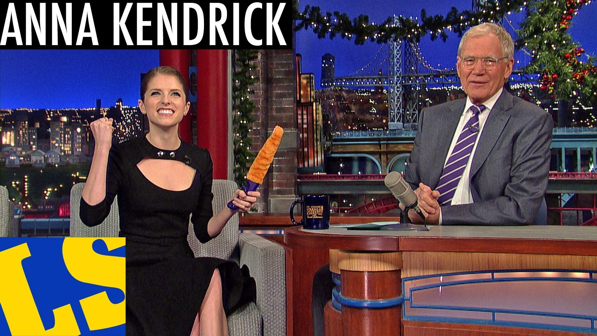 Video thumbnail for youtube video Watch Anne Kendrick Discuss Drugs And Furry Dildos With David Letterman  – PBH2
