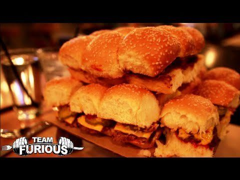 Watch Furious Pete Devour 24 Hamburgers In 24 Minutes