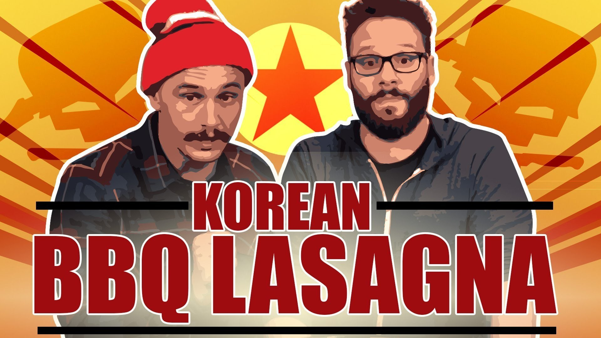 Watch Seth Rogen And James Franco Make a 33,000 Calorie Lasagna