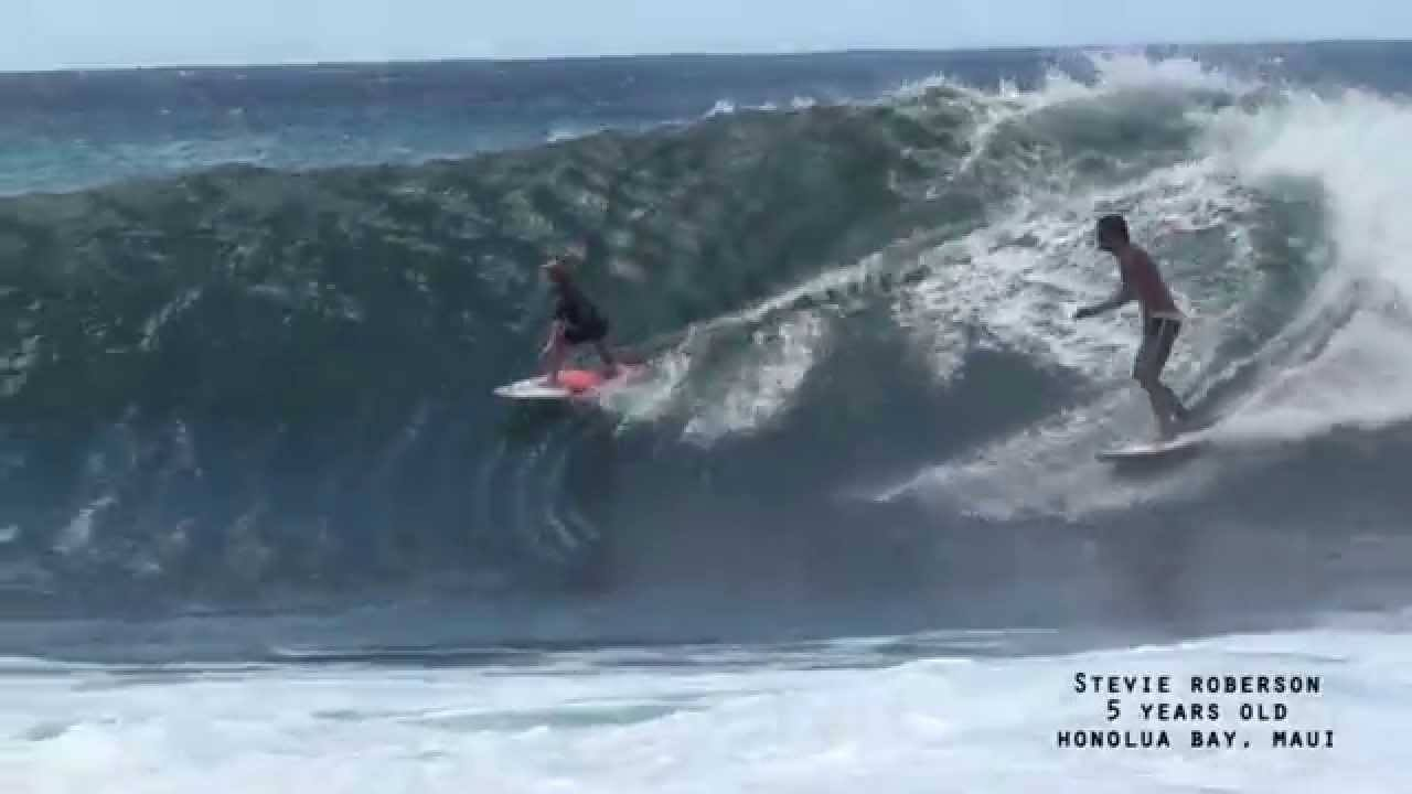 Watch This 6 Year Old Surfing Prodigy Ride Huge Waves In Hawaii