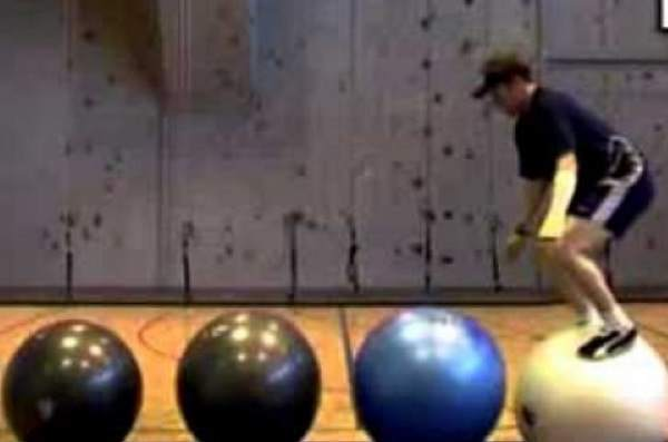 Exercise Ball Fail GIFs
