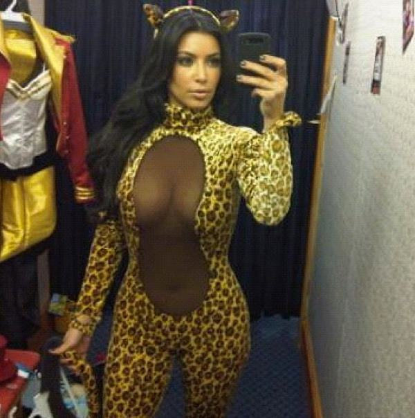 Kim Kardashian Sexy Costume