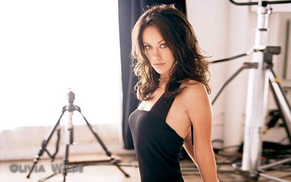 Hot Olivia Wilde Photos Black Dress