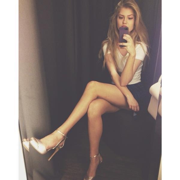 Alexandria Morgan Selfie