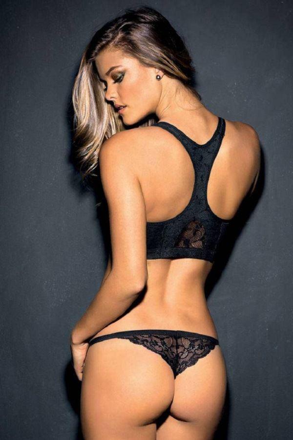 Nina Agdal Butt