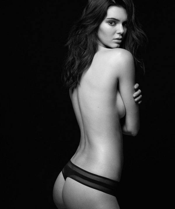 Sexy Kendall Jenner Thong