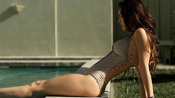 Megan Fox By The Pool