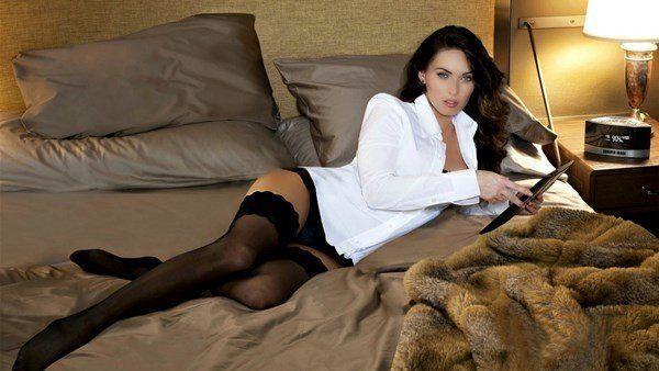 Megan Fox In Bed