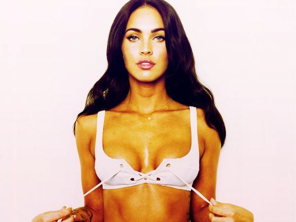 Megan Fox Taking Her Top Off