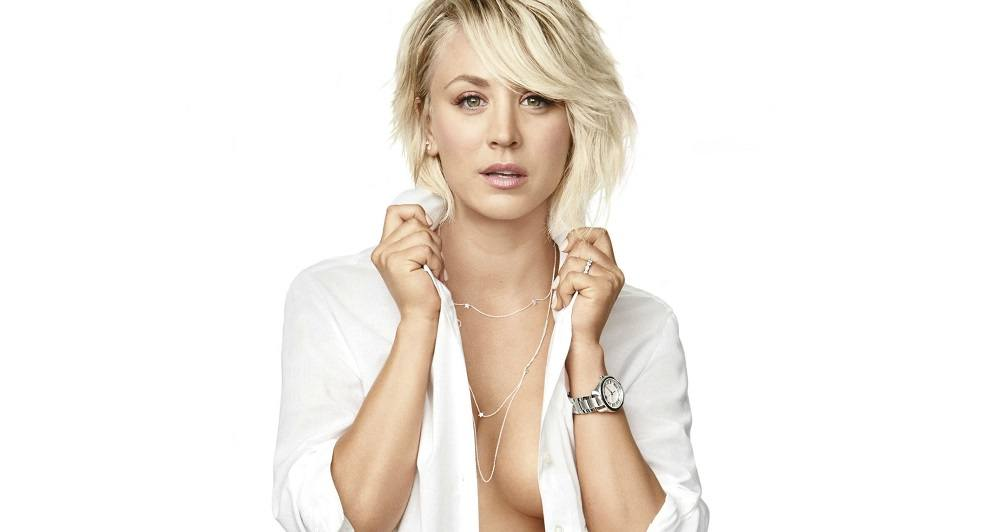Cleavage Of Kaley Cuoco