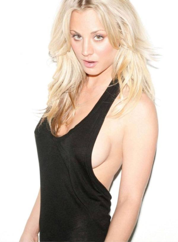 Kaley Cuoco Side Boob