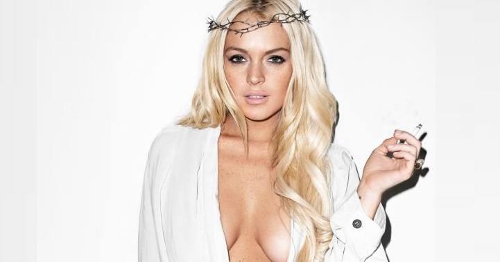 Lindsay Lohan Boobs