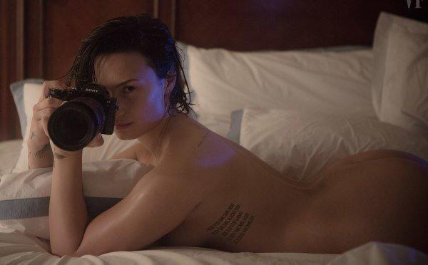 Nude Demi Lovato