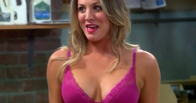 Pink Bra In Big Bang Theory