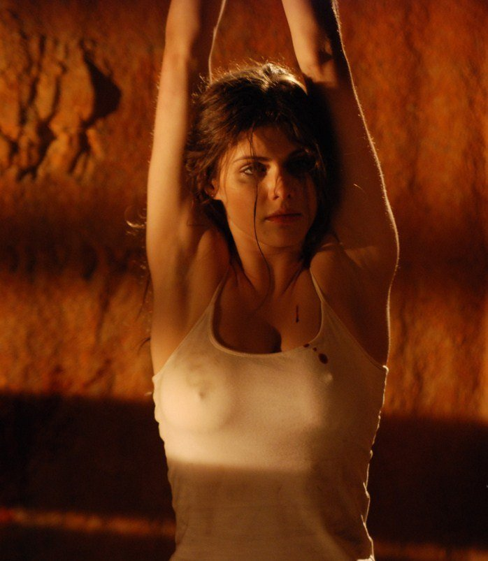 Hot Alexandra Daddario Nipples