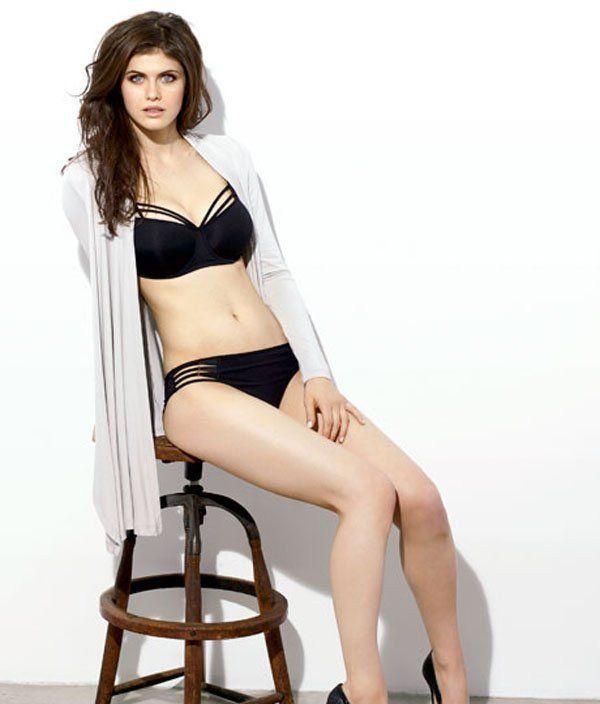 Sexy Alexandra Daddario Bikini