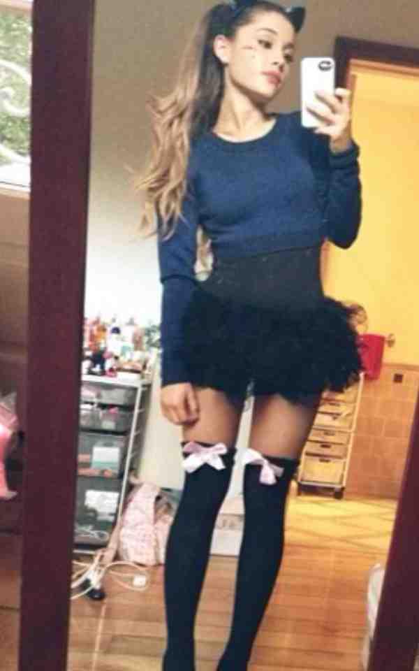 Sexy Ariana Grande Instagram Picture
