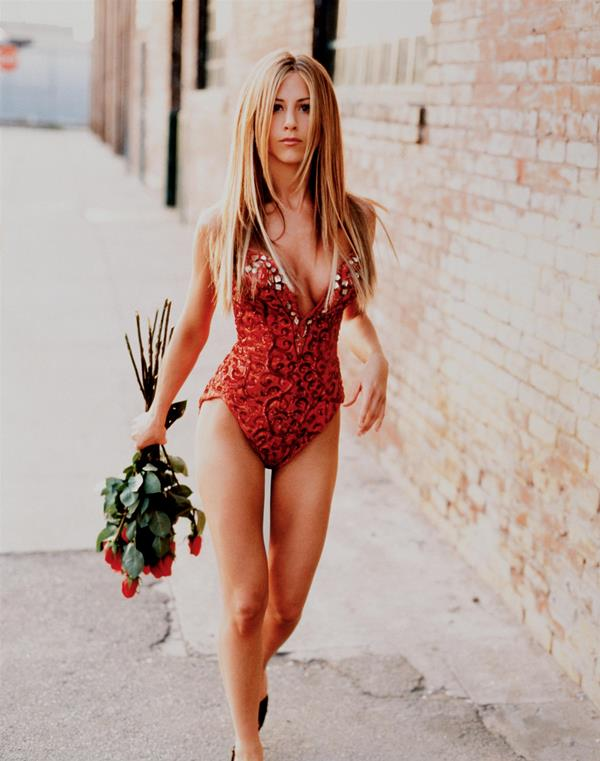 Sexy Jennifer Aniston In A Unitard