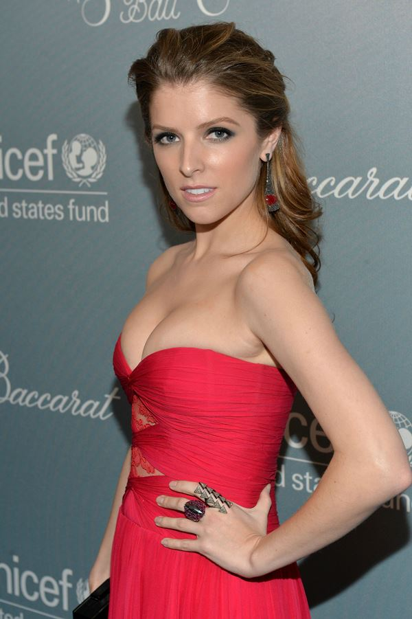 Anna Kendrick Busting Out
