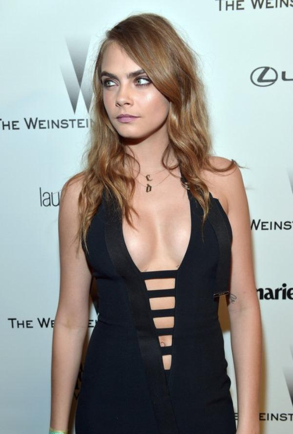 Cara Delevingne Sexy Dress