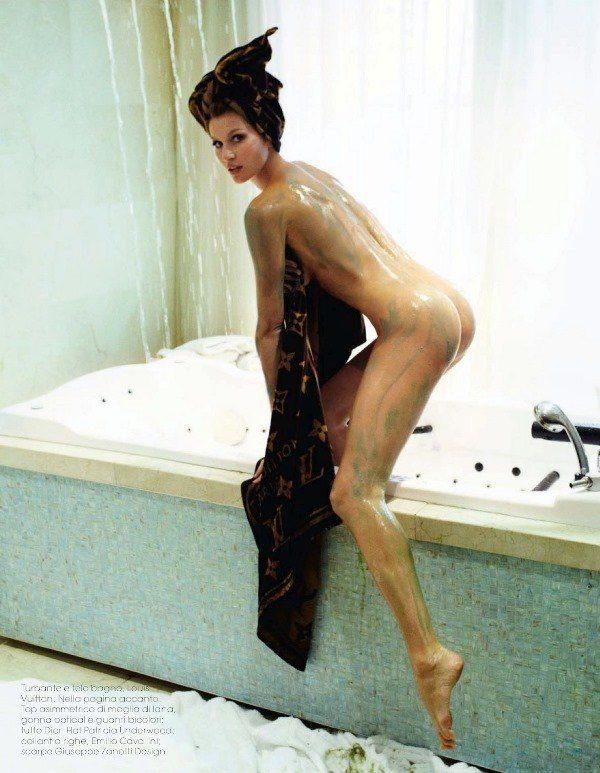 Gisele Naked Butt